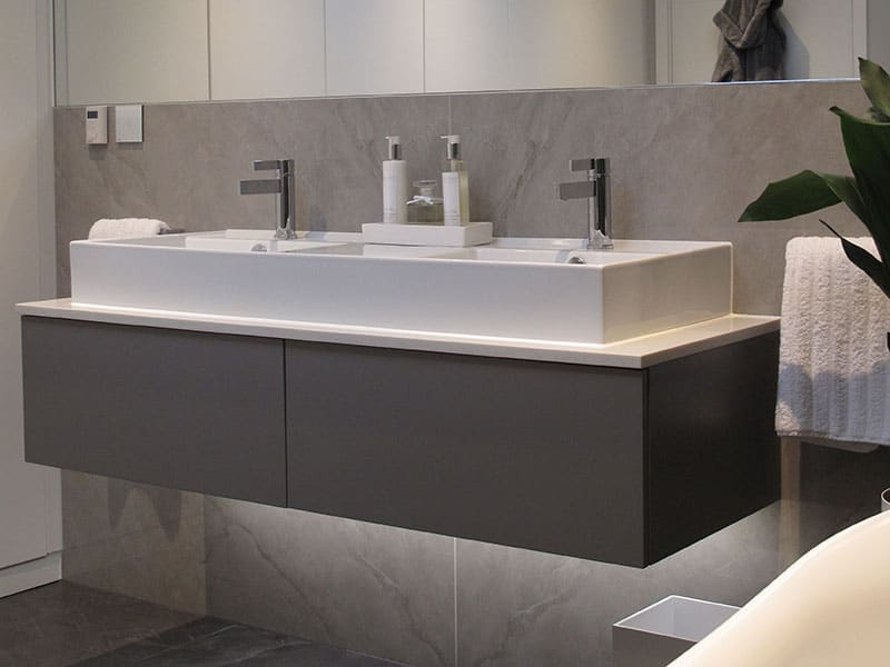 Double Sink Bathroom Installers