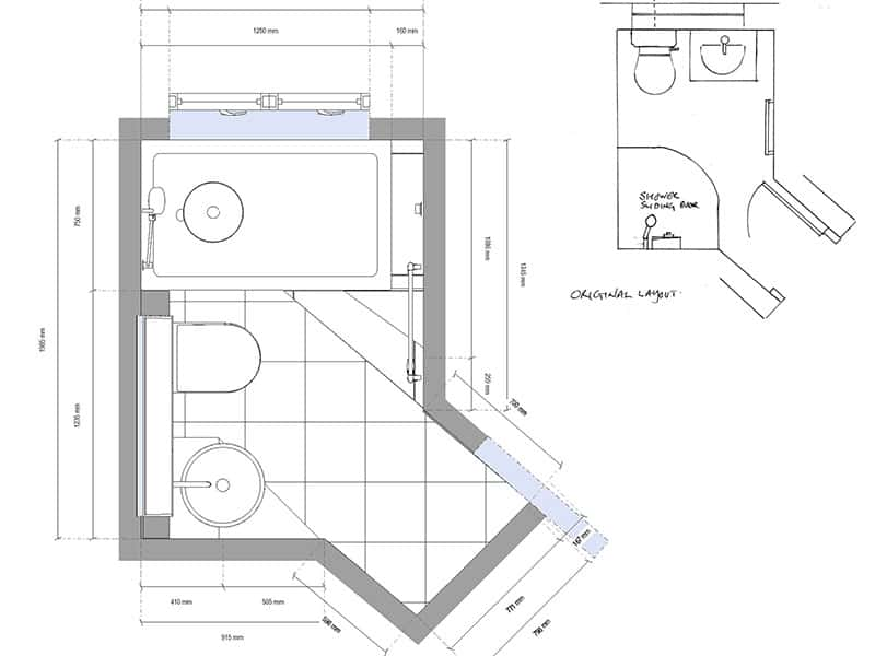 Bathroom Planning Designs