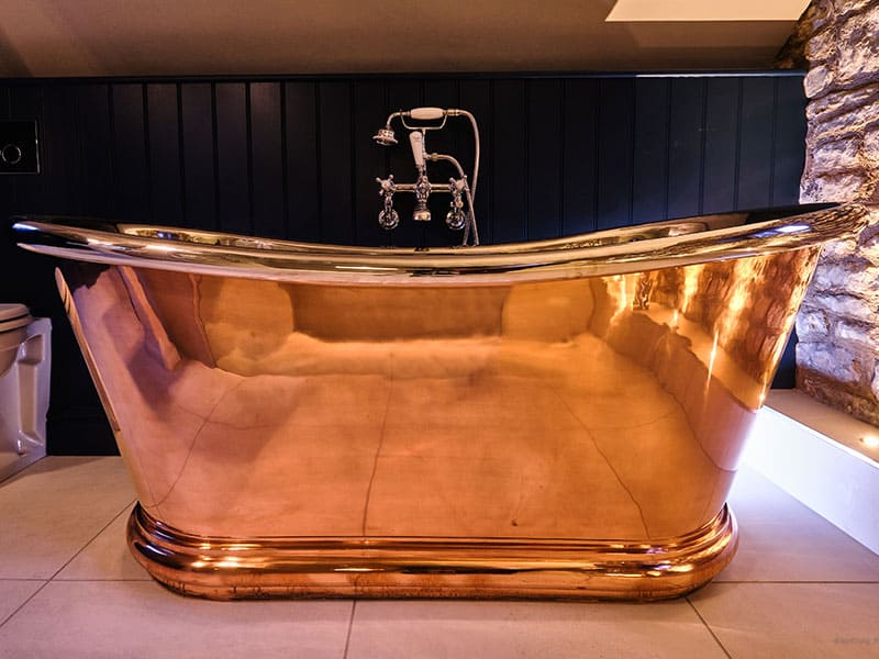 Copper Bathroom Design